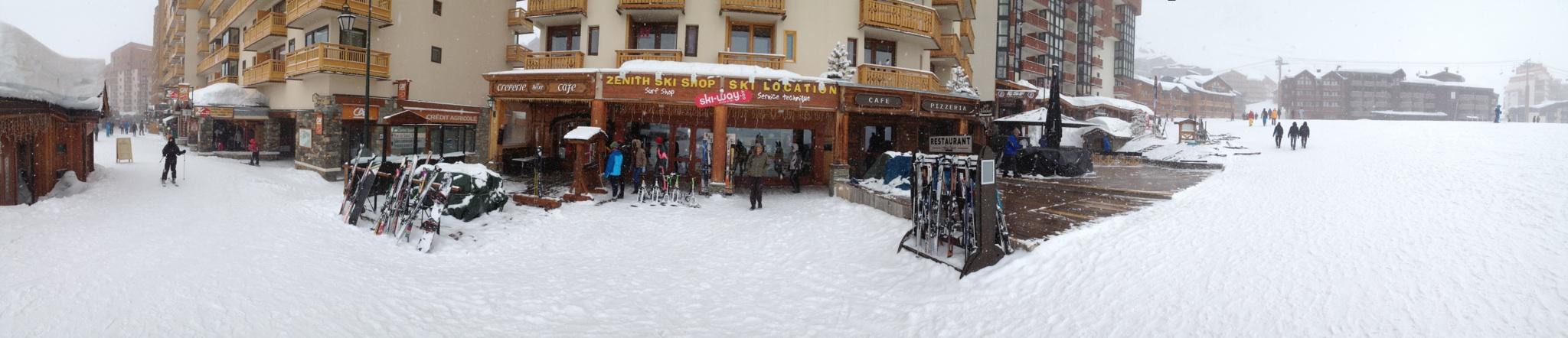 location de ski val thorens